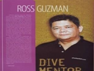 """Having been a lifeguard and first aid instructor in his teens, Ross wanted to become a """"frogman"""" like James Bond in the 70's. He became a PADI Professional in the 90's and never stopped mentoring."""